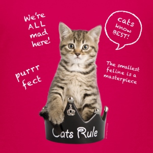Cats Rule Kids' Shirts - Toddler Premium T-Shirt