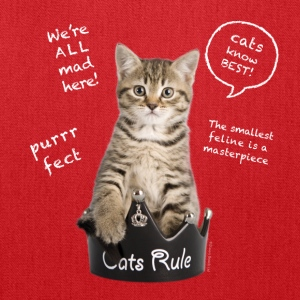 Cats Rule Kids' Shirts - Tote Bag