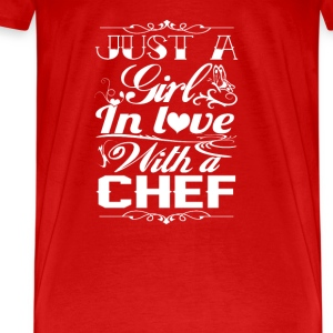 In love with a Chef - Men's Premium T-Shirt