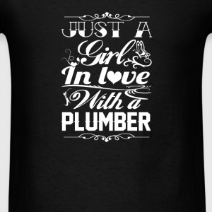 In love with Plumber - Men's T-Shirt