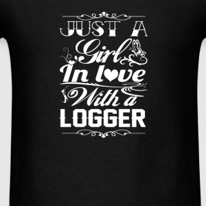 In love with Logger - Men's T-Shirt