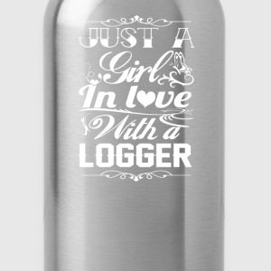 In love with Logger - Water Bottle