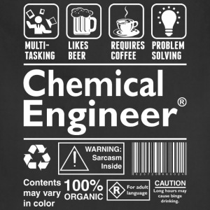 Beer Coffee Problem Solving Chemical Engineer - Adjustable Apron