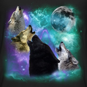 Wolves Coven Emeral night Women's T-Shirts - Men's Premium Long Sleeve T-Shirt