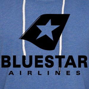 BlueStar Airlines - Unisex Lightweight Terry Hoodie