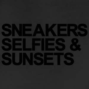Sneakers Selfies Sunset Women's T-Shirts - Leggings