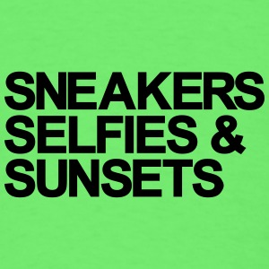 Sneakers Selfies Sunset Baby & Toddler Shirts - Men's T-Shirt