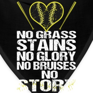 No Grass Stains No Glory No Bruises No Story - Bandana