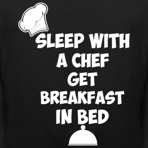 Sleep With A Chef Get Breakfast In Bed - Men's Premium Tank