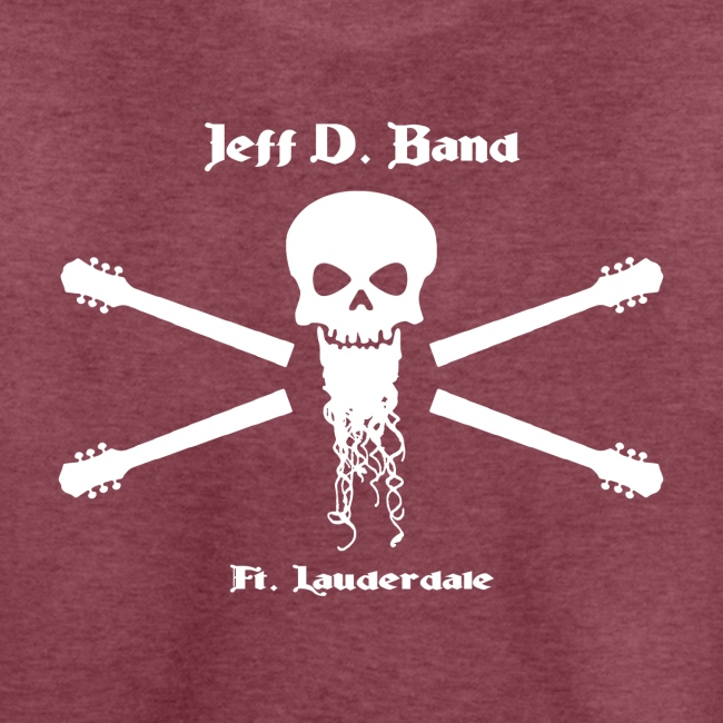 Jeff D. Band Tall Sized T-Shirt (m)