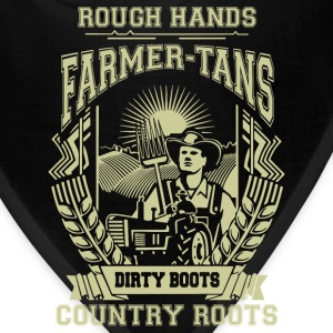 Farmer Dirty boots, i'm a farmer t-shirts - Bandana