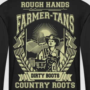 Farmer Dirty boots, i'm a farmer t-shirts - Men's Premium Long Sleeve T-Shirt