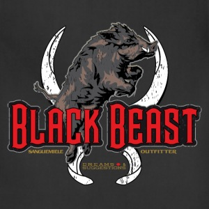 black beast T-Shirts - Adjustable Apron