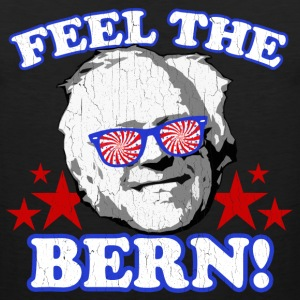 Feel the BERN! (vintage distressed look) - Men's Premium Tank