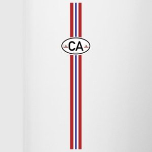 California Racing Stripe Women's T-Shirts - Coffee/Tea Mug