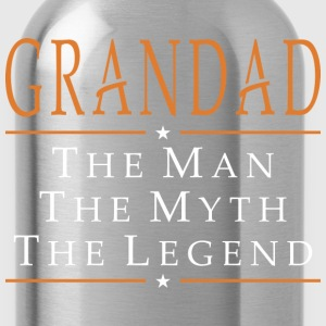 Grandad The Man The Myth The Legend - Water Bottle