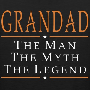 Grandad The Man The Myth The Legend - Men's Premium Tank
