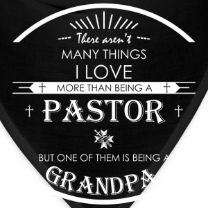 I Love More Than Being A Pastor Grandpa - Bandana