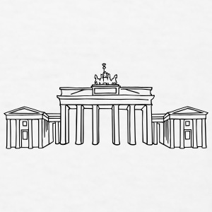Brandenburg Gate Berlin Accessories - Men's T-Shirt
