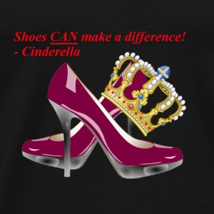 Shoes CAN make a difference! - Cinderella - Men's Premium T-Shirt
