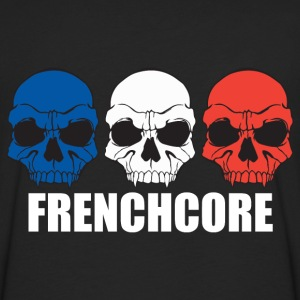 Frenchcore Skulls Hoodies - Men's Premium Long Sleeve T-Shirt