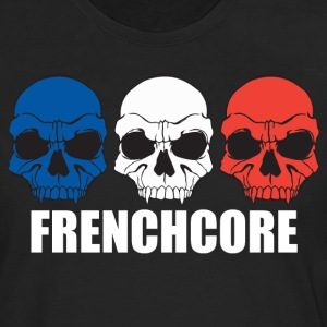 Frenchcore Skulls Tank Tops - Men's Premium Long Sleeve T-Shirt