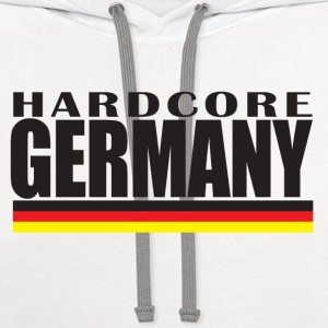 Hardcore Germany Women's T-Shirts - Contrast Hoodie