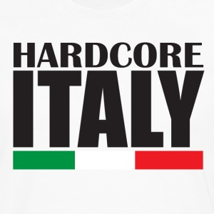 Hardcore Italy Tank Tops - Men's Premium Long Sleeve T-Shirt