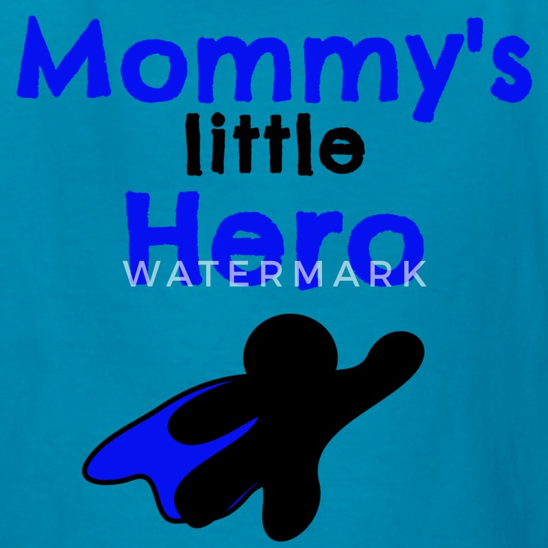 Mommy's little hero Kids' Shirts - Kids' T-Shirt