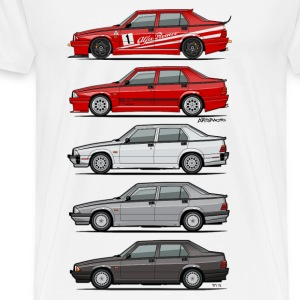 Stack of Alfa 75 Milano Tipo 161 Baby & Toddler Shirts - Men's Premium T-Shirt