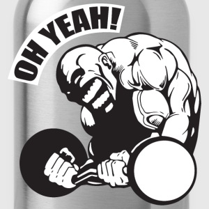 OH YEAH! - Bodybuilding Motivation Tank Tops - Water Bottle