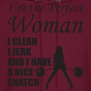 I'm The Perfect Woman Tanks - Men's Hoodie