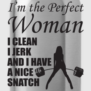I'm The Perfect Woman Tanks - Water Bottle