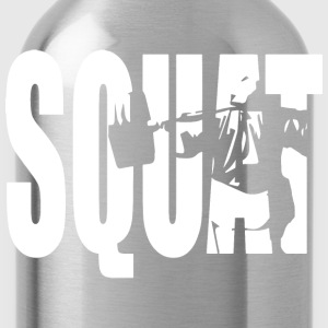 SQUAT T-Shirts - Water Bottle