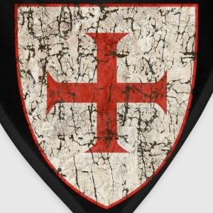 Templar Cross, Old - Bandana