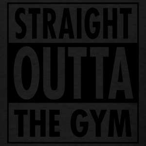 Straight Outta Gym Tanks - Men's T-Shirt