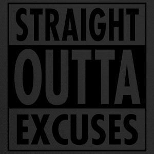 Straight Outta Excuses Tank Tops - Trucker Cap
