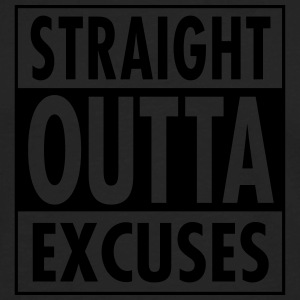 Straight Outta Excuses Tank Tops - Men's Premium Long Sleeve T-Shirt