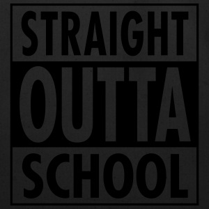 Straight Outta School Long Sleeve Shirts - Eco-Friendly Cotton Tote