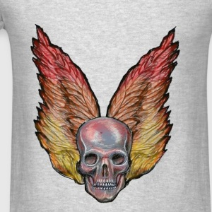 winged skull Long Sleeve Shirts - Men's T-Shirt