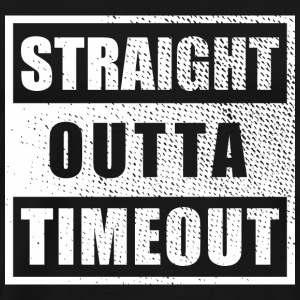 Straight Outta Timeout - Men's Premium T-Shirt