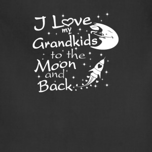 I Love My GrandKids to the Moon and Back - Adjustable Apron