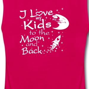 I Love My Kids to the Moon and Back - Women's Premium Tank Top