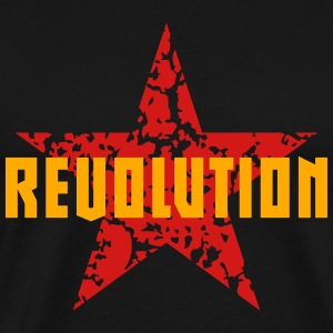 Revolution (Red Star) Tanks - Men's Premium T-Shirt