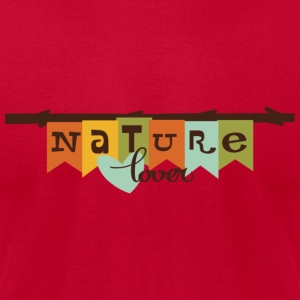 nature lover Tanks - Men's T-Shirt by American Apparel