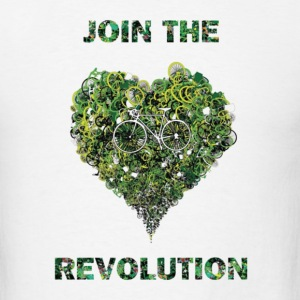 join the revolution Hoodies - Men's T-Shirt