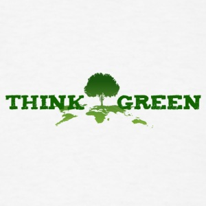 think green Tanks - Men's T-Shirt