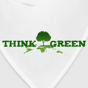 think green Tanks - Bandana