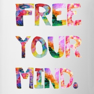 free your mind Tanks - Coffee/Tea Mug