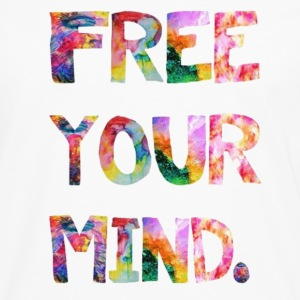 free your mind Tanks - Men's Premium Long Sleeve T-Shirt